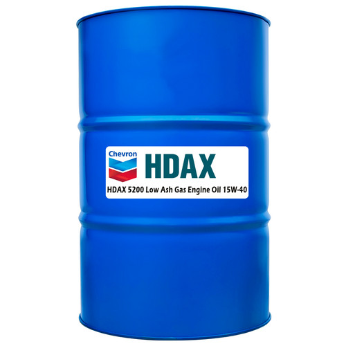 Chevron HDAX 5200 Low Ash 15W-40