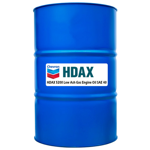 Chevron HDAX 5200 Low Ash 40