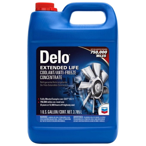 Chevron Delo Extended Life Coolant System Coolant/Antifreeze Concentrate