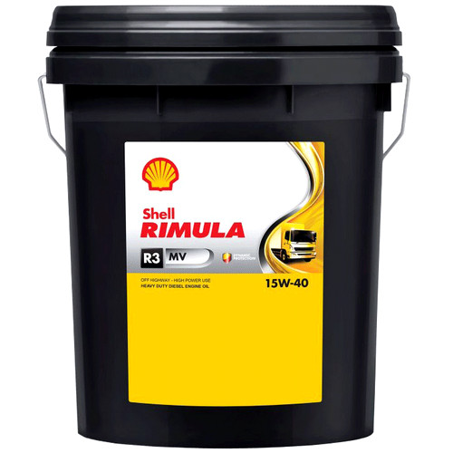 Shell Rimula R3 MV 15W-40