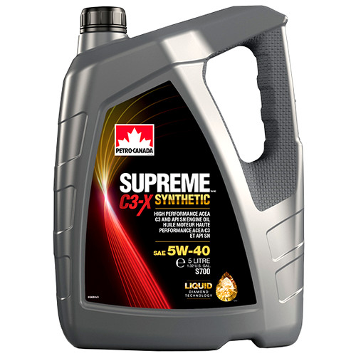 PETRO-CANADA SUPREME C3-Х SYNTHETIC 5W-40
