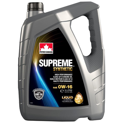 Petro-Canada SUPREME SYNTHETIC 0W-16 (Liquid Diamond Technology)
