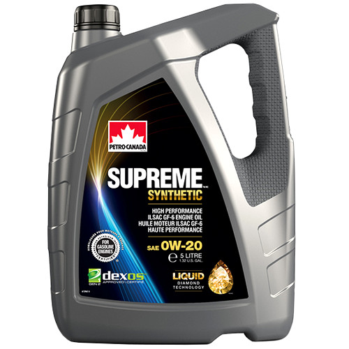 Petro-Canada SUPREME SYNTHETIC 0W-20 (Liquid Diamond Technology)
