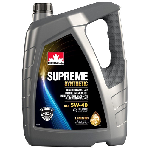 Petro-Canada SUPREME SYNTHETIC 5W-40 (Liquid Diamond Technology)