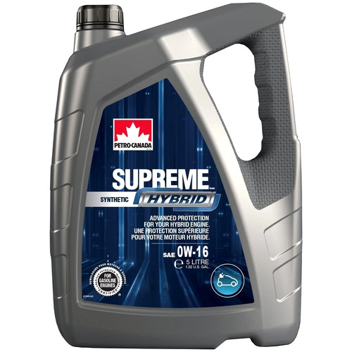 PETRO-CANADA SUPREME Synthetic Hybrid 0W-16
