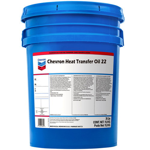 Chevron Heat Transfer Oil 22