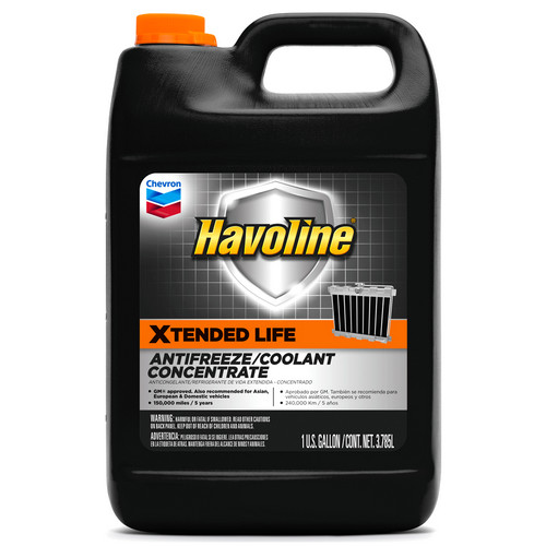 Chevron Havoline Xtended Life Anti-Freeze/Coolant Concentrate