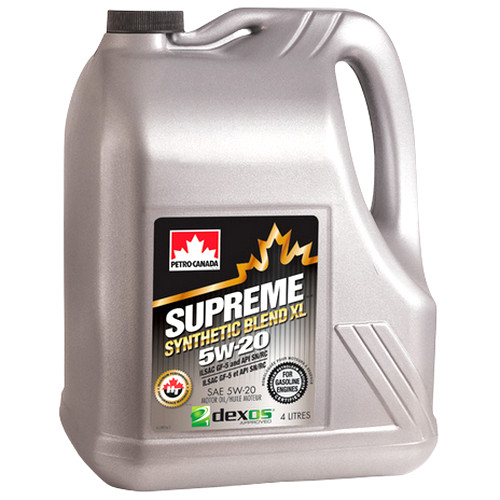 PETRO-CANADA SUPREME SYNTHETIC BLEND XL 5W-20